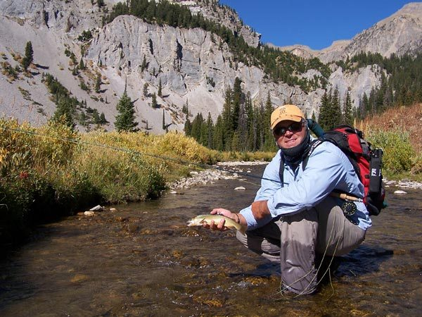 Yellowstone cutthroat fly fishing