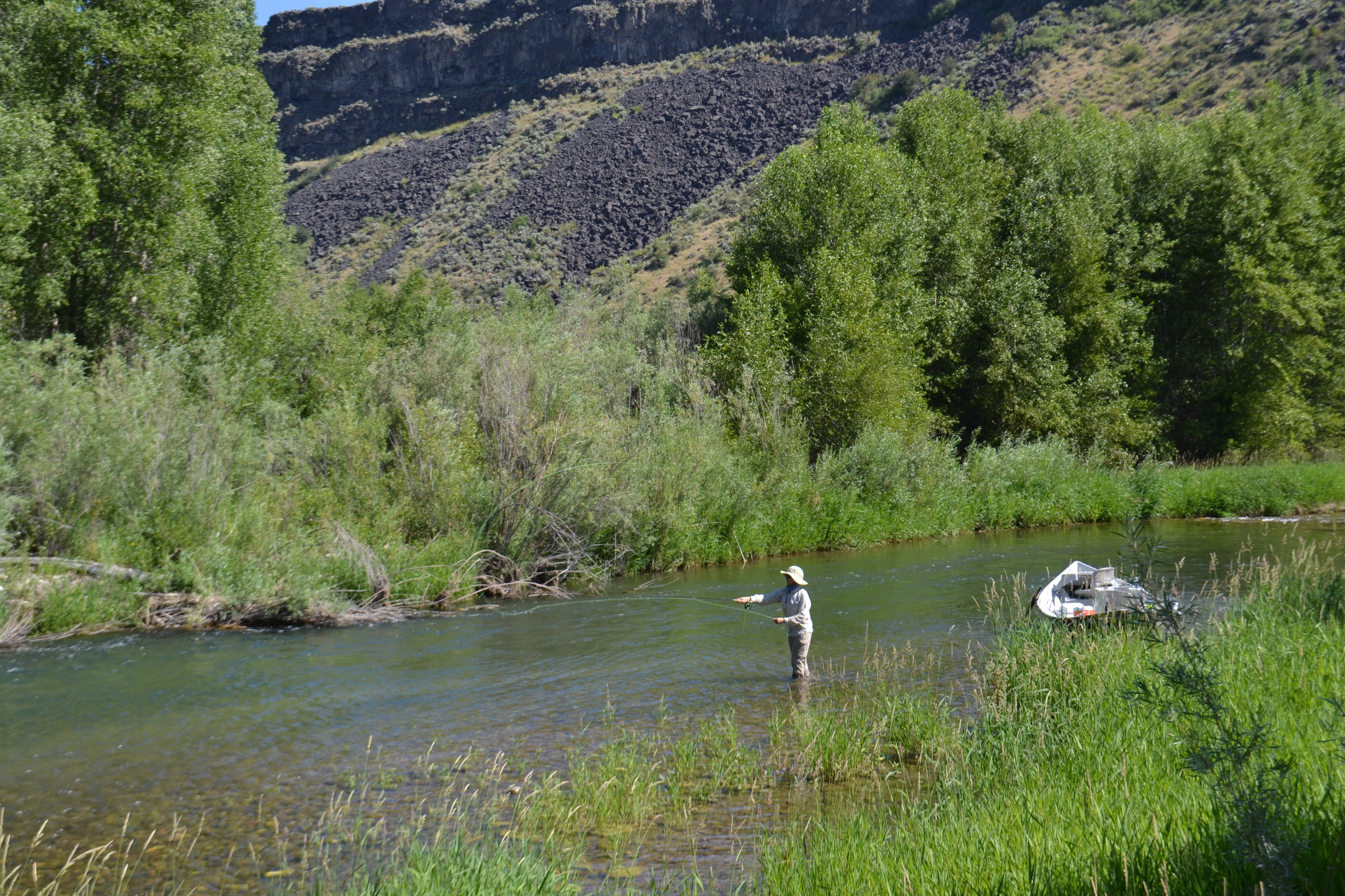 Fly fishing report south fork of the snake river for South fork snake river fishing report