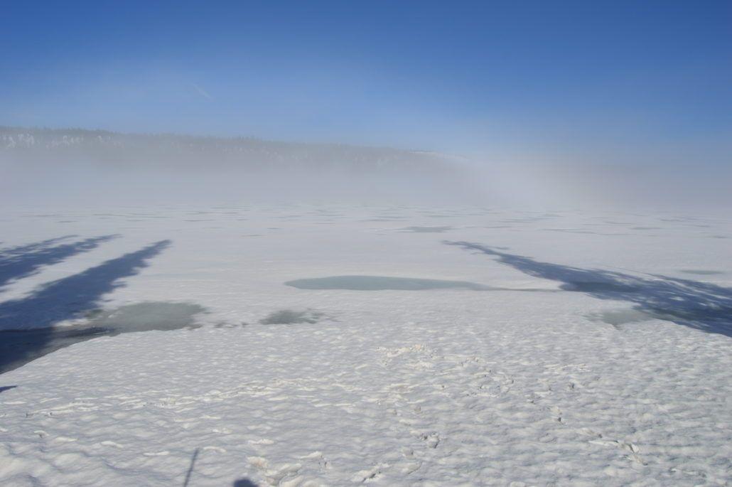 Frozen Lewis Lake